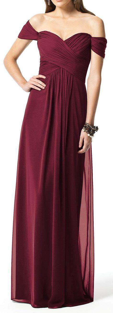 maroon bridesmaid dress 25 best ideas about burgundy dress on dress wedding and hoco dresses