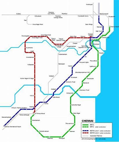 Chennai Map Metro Maps Open Resolution