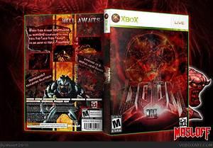 Doom 3 Xbox Box Art Cover By Masloff