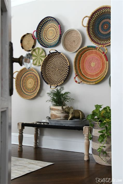 There may be some color discrepancies which is due to the different monitor settings dimensions: Colorful Basket Gallery Wall - Kelly Elko