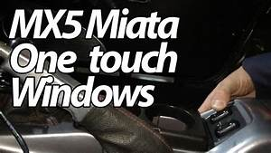 Miata Mx5 Arduino One Touch Power Windows