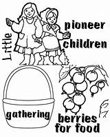Pioneer Children Clipart Coloring Pages Csb Template Arizonaforever Happy Arizona Forever Link Clipground sketch template
