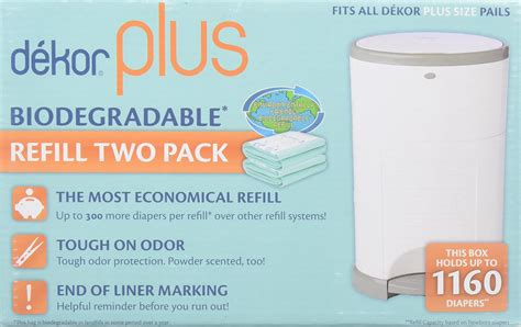 dekor diaper pail plus dekor diaper plus diaper disposal system baby
