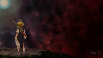 Meliodas Wallpapers Deadly Sins Seven Anime Dragon