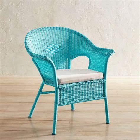 aqua stacking chair  turquoise