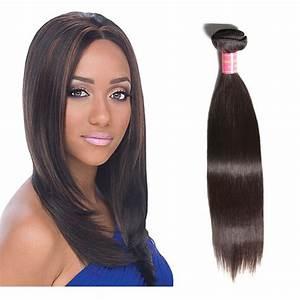 Nadula Virgin Brazilian Straight Hair 1 Bundle Unprocessed ...