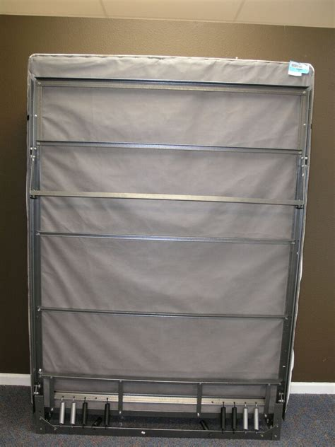 murphy bed frame hardware  steel twin size  wall