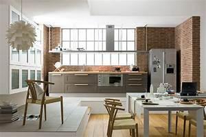Idee decoration cuisine galerie avec idee deco cuisine for Idee deco cuisine avec cuisine rustique