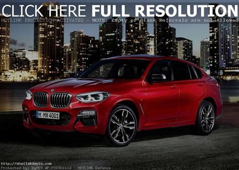 2019 Bmw Changes by 2019 Bmw X4 Redesign And Changes Auto Suv 2018