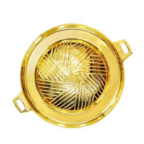 กระทะทองเหลือง (สำหรับเตาหมูกระทะ) - Thai-Manee