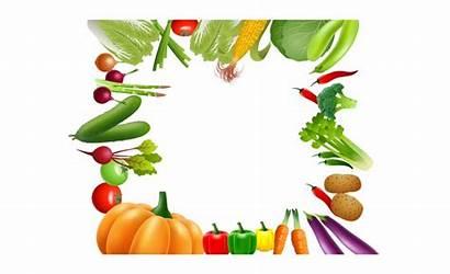Vegetable Border Vegetables Fruit Clipart Mango Fruits