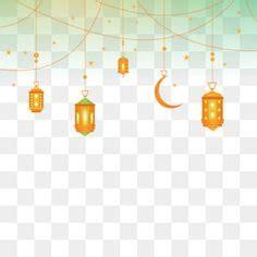 chandelier ramadan lamp light hanging border eid al adha