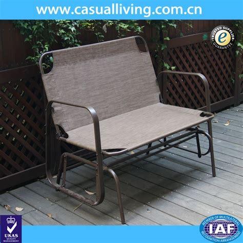 seater cast aluminum rocking chair loveseat glider bench