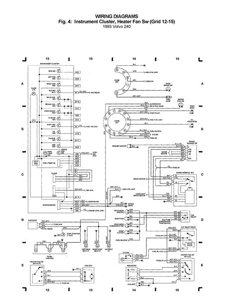 wiring diagram for volvo 240 instrument cluster stunning volvo 240 instrument cluster wiring diagram