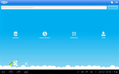 skype for android tablet quot classic view quot now available on skype for android tablets