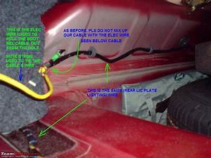 Unlocking The Ford Ikon   Diy Boot Release Set-up