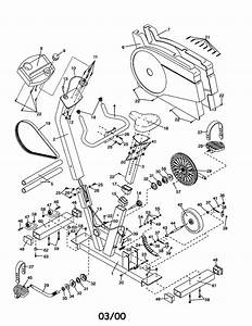 Proform Pfex77571 Exercise Cycle Parts