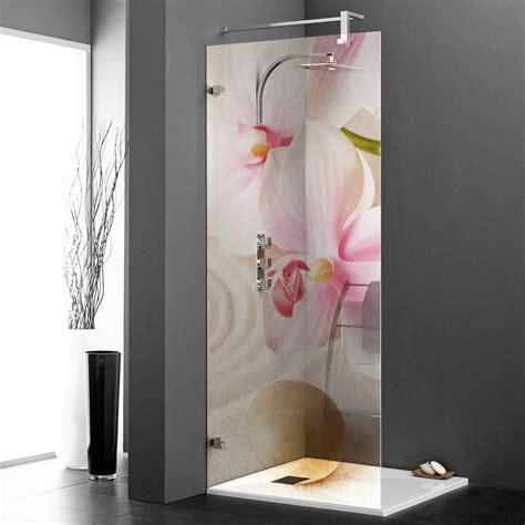 Vitre Pour Baignoire Pas Cher by Stickers Paroi De Douche Semi Translucide Orchid 233 E Rose
