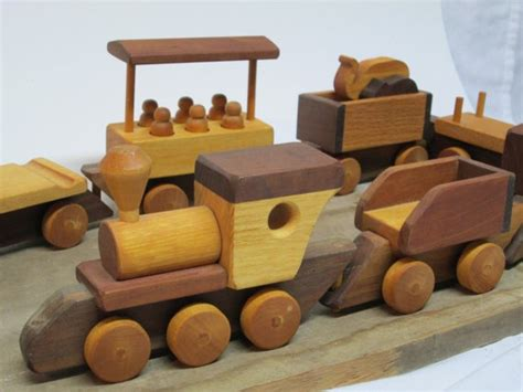 simple wooden toy train plans woodworking projects plans