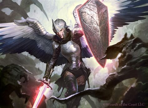 Guardian Angel With Sword And Shield Wwwpixsharkcom