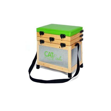 siege hifi marque generique siège pêche et casier en bois et alu