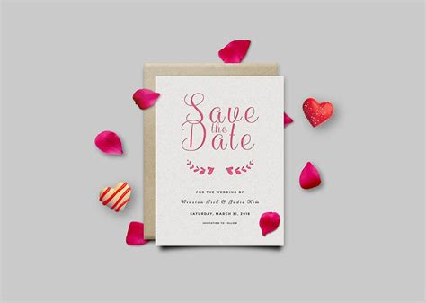 Download free invitation card mockup for your next project. Free Invitation Card Mockup PSD | Mockuptree
