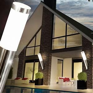 Terrassen Beleuchtung Außen : au en leuchte garagen haus wand beleuchtung terrassen balkon lampe edelstahl e27 ebay ~ Sanjose-hotels-ca.com Haus und Dekorationen