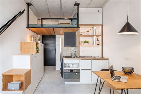 Tiny 18 Sqm Apartment Offers Student Housing With Space