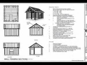 brigi looking for gambrel shed plans 12x24