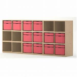 Meuble Casier Rangement : meuble de rangement 18 casiers meubles rangement ~ Teatrodelosmanantiales.com Idées de Décoration