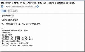 Euromaster Rechnung : vorsicht vor mail rechnung auftrag ihre bestellung telef mimikama ~ Themetempest.com Abrechnung