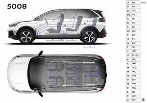 Longueur 5008 : peugeot 5008 2 dimensions prix moteurs tout sur le nouveau 5008 photo 9 l 39 argus ~ Gottalentnigeria.com Avis de Voitures