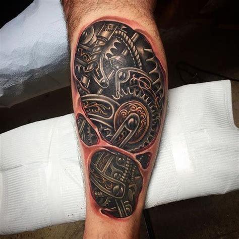 3d bein 1001 ideen und ispirationen f 252 r ein cooles biomechanik tattoos biomechanik 3d