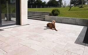 Terrassenplatten Granit Günstig : travertin platten light getrommelt online g nstig kaufen ~ Michelbontemps.com Haus und Dekorationen