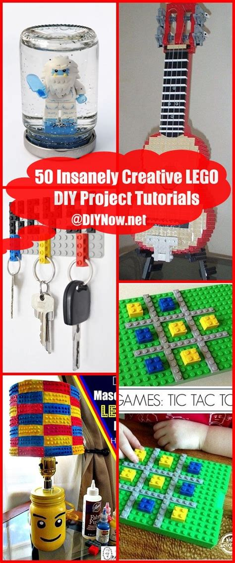 50 Insanely Creative LEGO DIY Project Tutorials DIYNownet