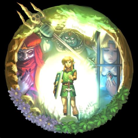 A Link To The Past By Bellhenge On Deviantart