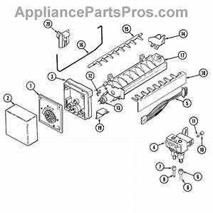 Parts For Admiral Gc2227dedb  Ice Maker Parts