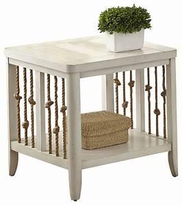 dockside rectangular end table white beach style side With white beach style coffee table