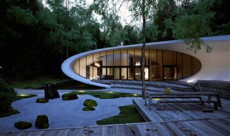 rumah minimalis futuristik  desain menarik