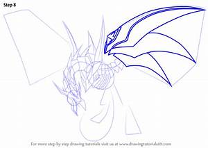Learn How to Draw Red-Eyes Black Dragon from Yu-Gi-Oh ...