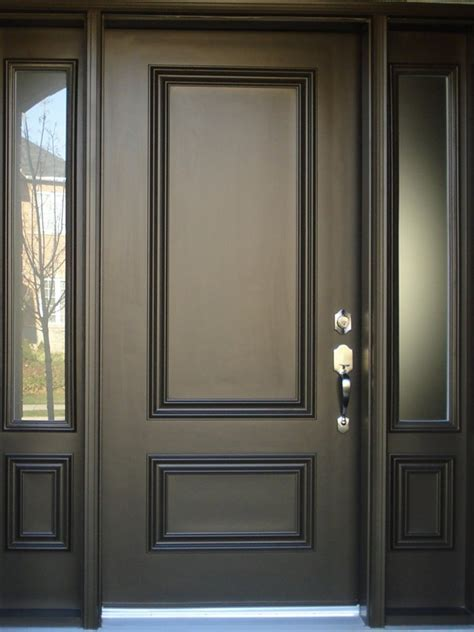 minimalist door design black color  ideas