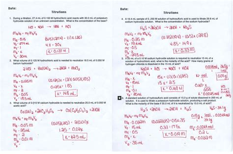 worksheet acids and bases worksheet answer key grass