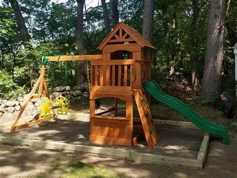 backyard discovery atlantis playset assembler swing set installer tewksbury ma