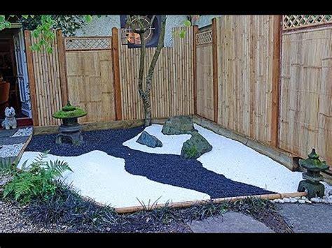 mini jardin  la japonaise la realisation du decor