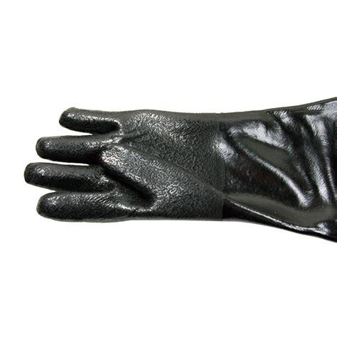 Sandblast Cabinet Gloves Ebay by Blasting Gloves Sand Blast Cabinet Sandblasting 65cm New