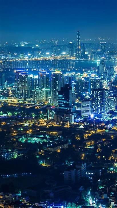 Seoul Korea Night Mobile Wallpapers South Wallpaperaccess