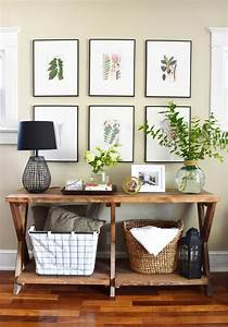 11, tips, for, styling, your, entryway, table