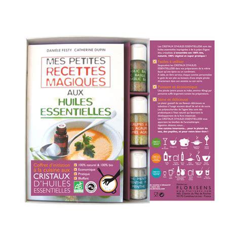 coffrets cuisine livre coffret cuisine aux huiles ess aromandise acheter sur greenweez com