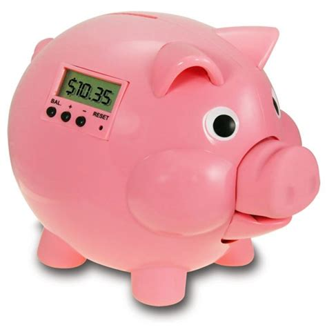 digital piggy bank electronic piggy bank with lcd pink pig e bank educational toys planet