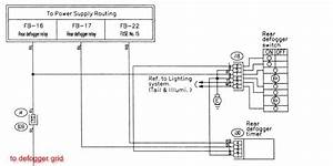 2003 Subaru Outback Rear Defrost Wiring Diagram